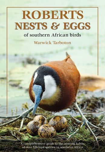 Roberts Nests and Eggs Book Warwick Tarboton