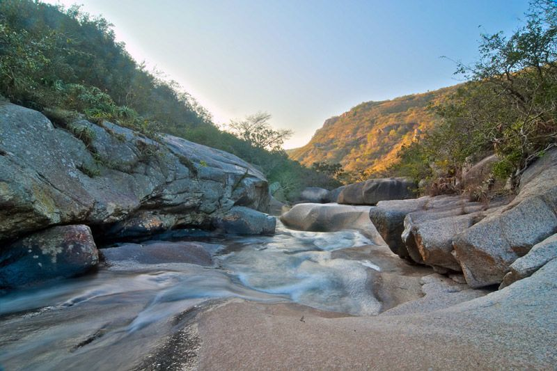 River in Kloof Gorge, photo by Kev Collett